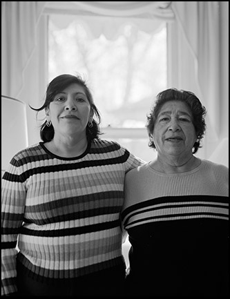 Ben Altman Art/Photographs: CLEANER AND HER MOTHER
